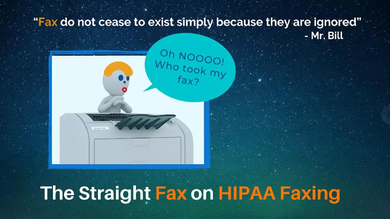 Getting Your Fax Straight on HIPAA Faxing